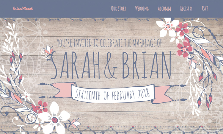 Personal Wedding Websites